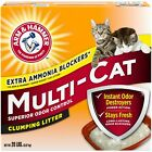 Arm & Hammer Multi-Cat Clumping Cat Litter, Scented