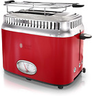 Russell Hobbs 2-Slice Retro Style Toaster, Red & Stainless Steel, TR9150RDR