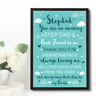 Step Dad Fathers Day Gifts Birthday Gifts For Step Dad Gifts From Step Daughter