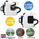 10L/12L Electric Backpack ULV Sprayer Fogger Cold Fogging Machine Garden Home UK