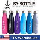 BY-Bottle 6 Colors 500ML 17Oz Stainless Steel Vacuum Double Wall Water Bottles