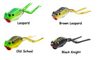 Z-Man Leap FrogZ™ Popping Frog Topwater Frog Popper - Choice of Colors and Sizes