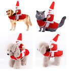 Christmas Xmas Puppy Supplies Christmas Costume Pet Clothes Riding Horse Clothe