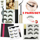 Kyпить Magnetic liquid Eyeliner+5 Magnetic False Eyelashes Easy to Wear Lashes Sets Mix на еВаy.соm