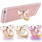 Universal-metal Cell Phone Butterfly Holder Round 360° Ring Stand Finger-bracket