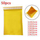 50PCS PADDED BUBBLE ENVELOPES BAGS POSTAL WRAP PACKING POSTAL WRAP 7 SIZES