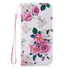 Flip Stand PU Leather Case Card Slot + Wrist Lanyard Cover For Huawei Ascend P10
