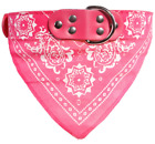 CUTE Dog Cat Scarf Bandana Neckerchief Collar Adjustable Buckle