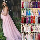 Women's Maternity Pregnancy Long Maxi Dress Ball Gown Dress Photography Prop New $43.22 USD on eBay