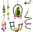 Bird Swing Chewing Toys Parakeets Cockatiel Conures Finches Parrots Macaws