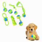 Play Bite Cotton Node Puppy Chew  Braided Cotton Pet Teeth Ball Dog Rope Toy