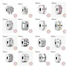 Pandora 925 sterling silver original bracelet charms beads jewelry love heart  image