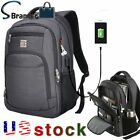 Marcello Laptop Backpack Business Travel College School Bag Usb Charging Port Us