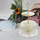 Kyпить DIY 3 Tiers Fruit Dish Coaster Resin Casting Silicone Mold Stand Agate Epoxy US на еВаy.соm