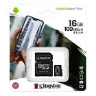 Kingston Micro SD Memory Card 16GB.32GB.64GB.128GB For Androids, Smartphoness