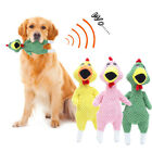 Durable Teeth Cleaning Puppy Interactive Bite Toy Screaming Chicken Pet Toys
