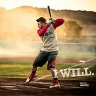"Bryce Harper ""I WILL"" Music Album Decor HD Print Poster 12"" 16"" 20"" 24"" Sizes"