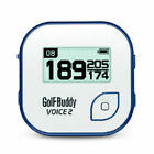 Golf Buddy VOICE 2 EASY-TO-USE TALKING GOLF GPS Rangefinder FACTORY REFURBISHED