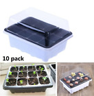 10x 12 Cell Plant Germination Kit Plant Starting Sprout Pot Vegetable Plant Tray