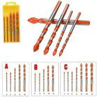 Multifunctional Drill Bits Ceramic Glass Punching Hole Working Sets
