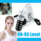 Reusable Half Face Mask Clear Respirator Silicone Anti-droplets Shield Cover