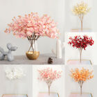 Flower  Wedding Party Artificial Plantseucalyptus Home Decor 5 Twigs 20 Heads