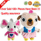 Chip and Potato Dog And Mouse Soft Stuffed Animal Pink Dog Push Doll Gift US