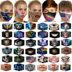 Unisex Washable Reusable Facemask Half Face Mouth Mark Protective Filter Mask 88