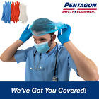 Kyпить 100 pcs Disposable Bouffant Cap Hair Net Non Woven Head Cover Industrial/Medical на еВаy.соm