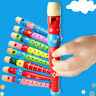More images of Fun Baby Kids Wooden Flute Whistle Early Art Developmental Gift Portable vcx