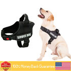 Dog Harness Reflective Breathable and Easy Adjust Pet Harness with Nylon Handle
