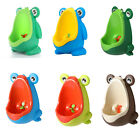 Kids Wall-Mounted Hook Frog Potty Toilet Training Stand Vertical Urinal Trainer image