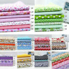 7pcs 25*25cm Cotton Fabric Diy Assorted Squares Pre-cut Quilt Quarters  New Dy*