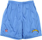 Reebok NFL Men's San Diego Chargers Coaches Practice Shorts, Sky Blue $15.99 USD on eBay