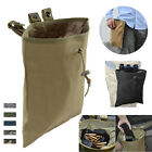 Military Molle Belt Magazine Pouch Tactical Dump Drop Pouch Portable Hunting Bag