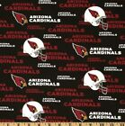 "arizona cardinals fabric 10""x58"" NEXT DAY SHIP cotton GOOD FOR MASKS $8.0 USD on eBay"