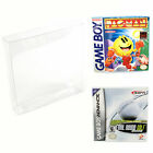 Внешний вид - Nintendo Game Boy & Advance Plastic Box Protector Cases Clear .35mm Thick