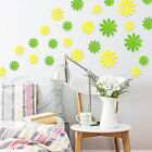 12pcs 3d Butterfly Mirror Bright Sun Flower Wall Stickers Diy  Decoration Decals