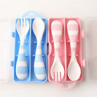 Spoons Baby Tableware Cartoon Fork Spoon Box Newborn Lovely Children Feeding 6T