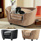 Pet Sofa Couch Small Sized Dog Cat Sponge Cushioned Bed Lounge Sleeping Bed 70cm