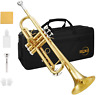 More images of Eking Trumpet B Flat Standard Student Bb Trumpet Instrument for Beginners with