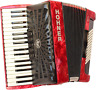 More images of Hohner A16631S Bravo Line Facelift III -72 Bass Chromatic Piano Accordion with