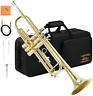 More images of Eastar Trumpet B Flat Standard Student Bb Trumpet Musical Instrument with 7C