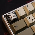 Keycap Lion Head Chinese Style Beast Resin Key Cap For Cherry MX Keyboard New