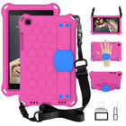 "Kids Shockproof Stand Case Strap For Samsung Galaxy Tab A 8.0"" 10.1"" 8.4"" Tablet"