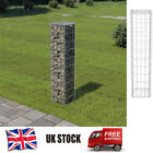Galvanised Steel Gabion Wall with Cover Stone Basket Cage Landscape Garden