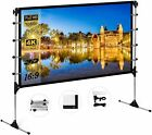 60'-150' Projector Screen HD 16:9 Foldable Theater In/Outdoor Movie Projection