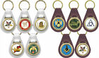 NEW White or Brown Leather Key Fob Masonic OES Shrine Scottish Rite Past Master