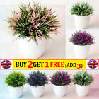 Realistic Artificial In Pot Fake Flowers Potted Plants Bonsai Home Garden Decor