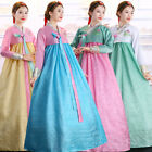 chic ethnic womens traditional hanbok national dress costumes fashion gown size